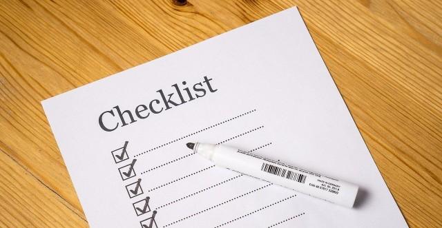 EnMS-Checkliste